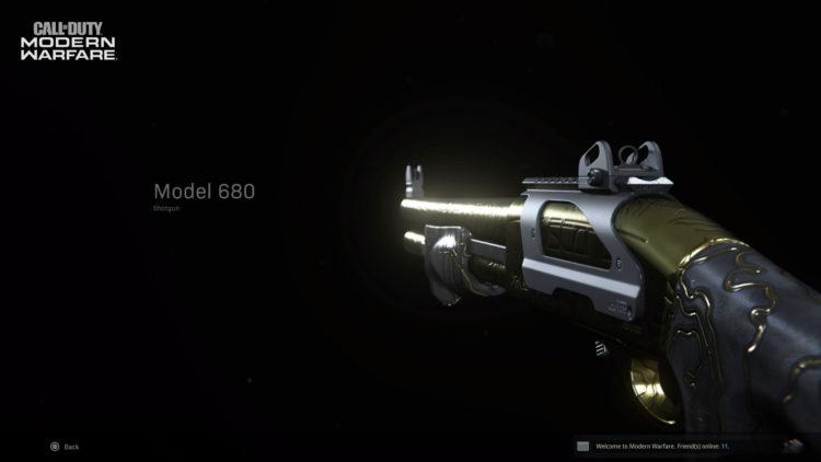 Warzone Model 680 Shotgun