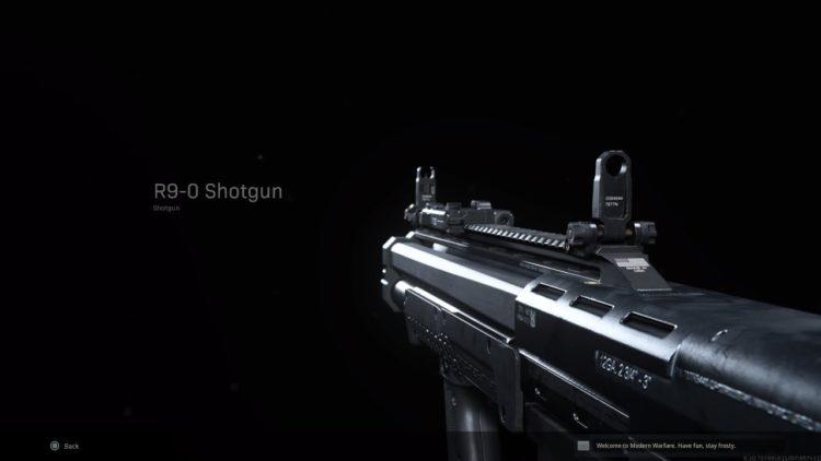Warzone R9 0 Shotgun