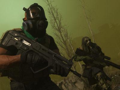 Warzone Gas Mask