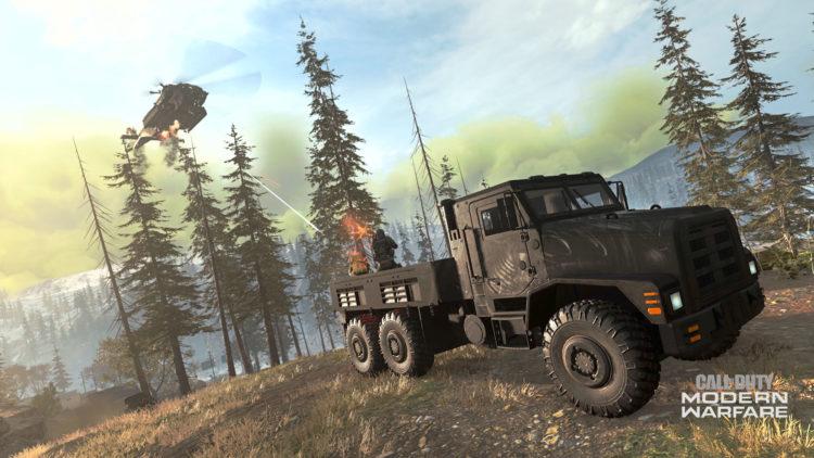 Warzone Vehicles