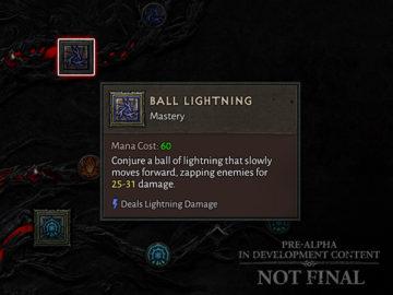 Diablo Iv 4 Skill Tree Developer Update Ball Lightning