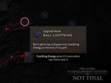 Diablo Iv 4 Skill Tree Developer Update Ball Lightning Upgrade