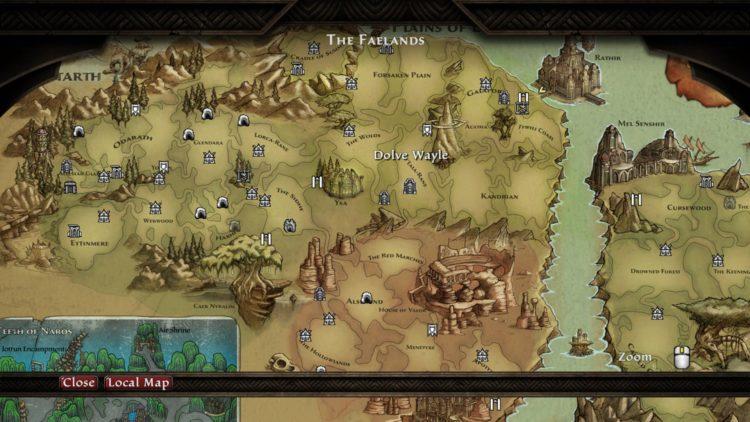 Карта расплаты Kingdoms Of Amalur