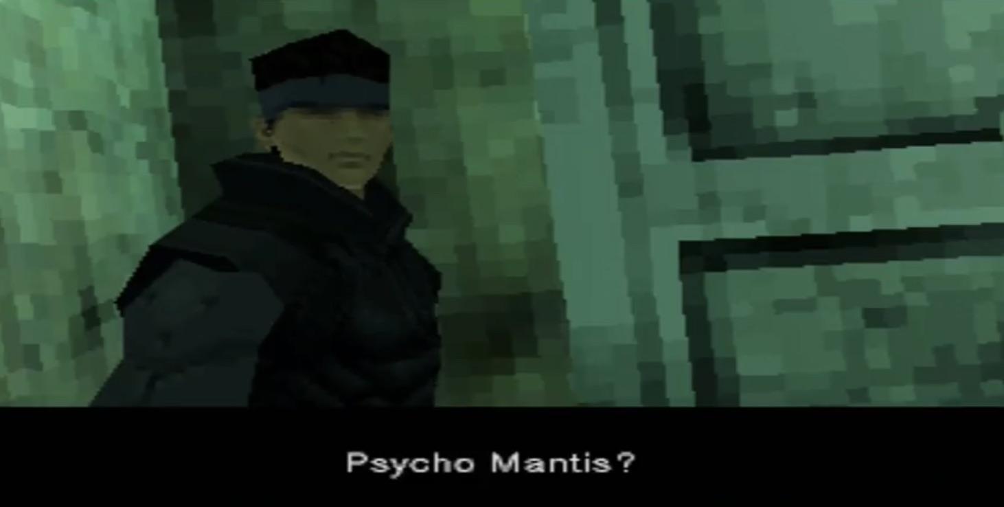 Metal Gear Solid Psycho Mantis