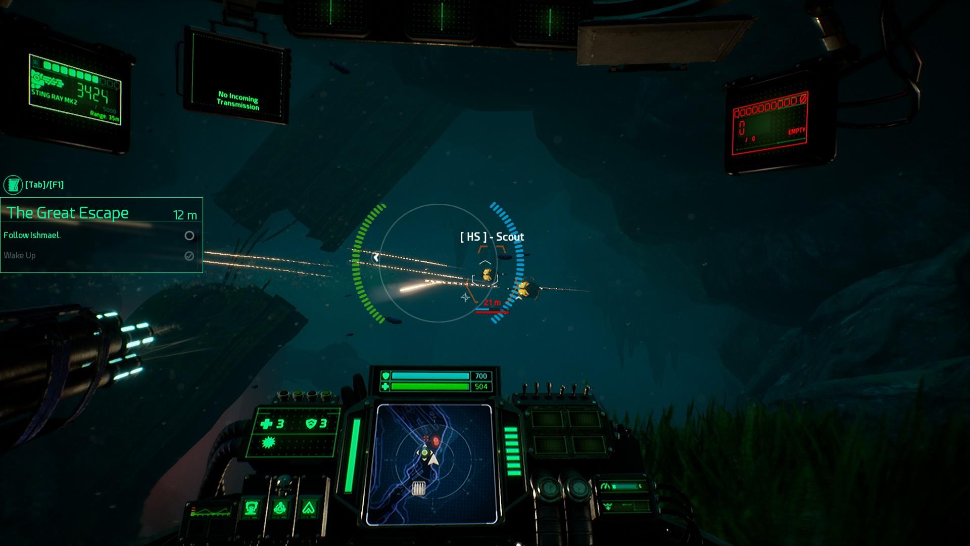 Aquanox Deep Descent 7