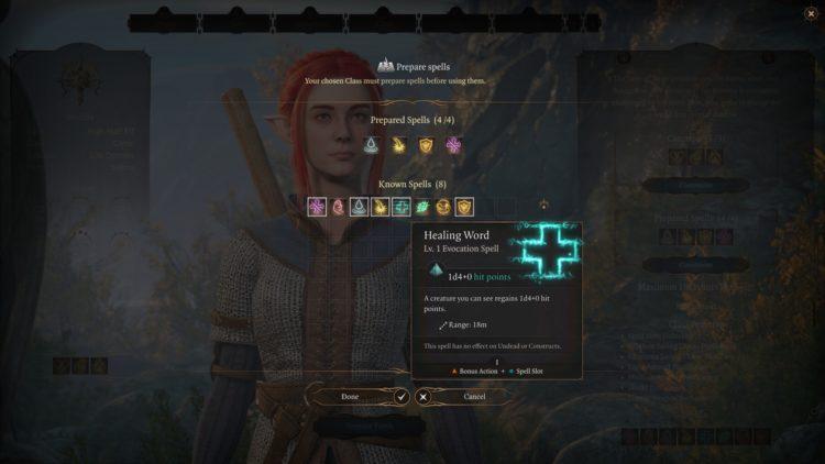 Baldur's Gate 3 Cleric Class Skills Guide 3