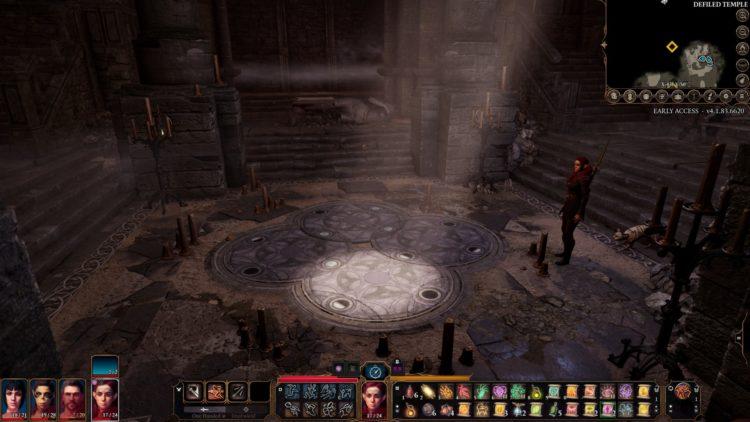 Baldur's Gate 3 Defiled Temple Moon Puzzle Guide 1