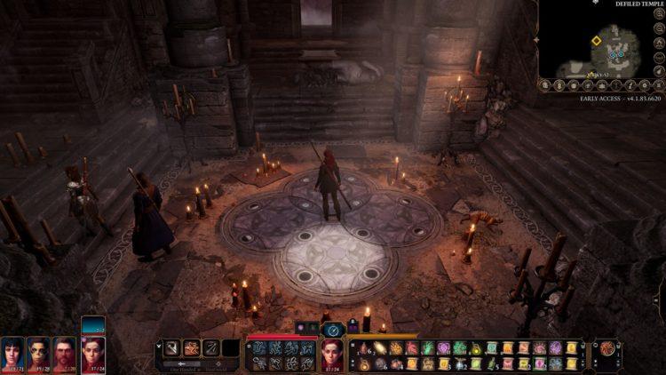 Baldur's Gate 3 Defiled Temple Moon Puzzle Guide 3a