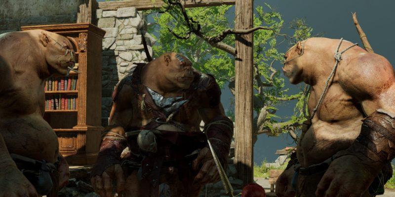 Baldur's Gate 3 Ogre Summon Lump's War Horn Lump The Enlightened One