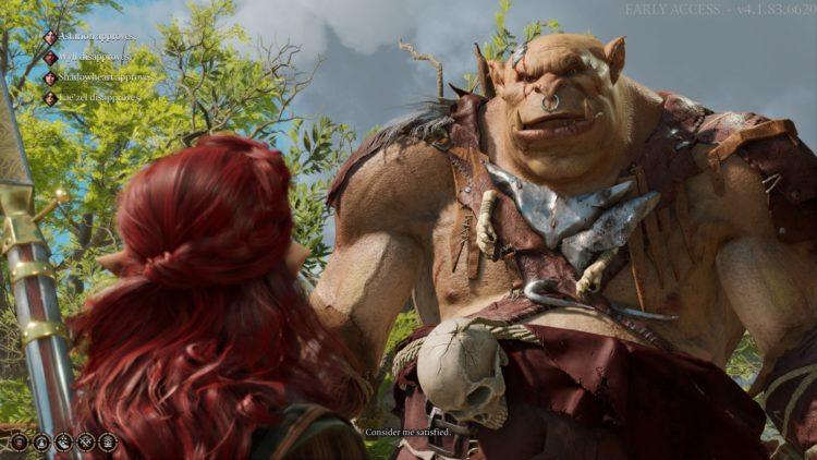 Baldur's Gate 3 Ogre Summon Lump's War Horn Lump The Enlightened One 3