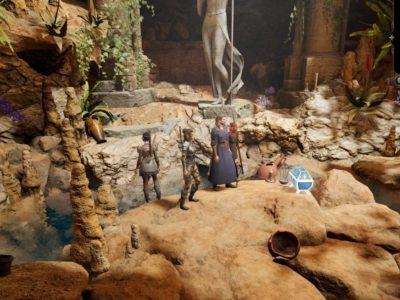Baldur's Gate 3 Owlbear Cave Gilded Chest Of Selune