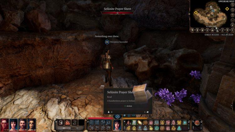 Baldur's Gate 3 Owlbear Cave Gilded Chest Of Selune 1