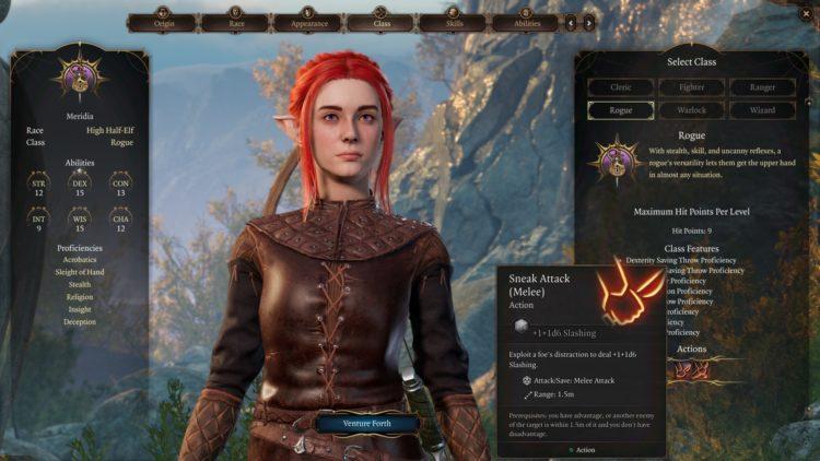 Baldur's Gate 3 Rogue Class And Skills Guide 1