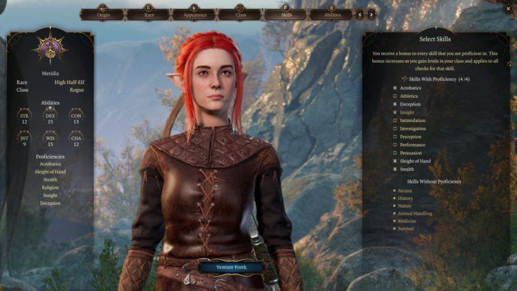Baldur's Gate 3 Rogue Class And Skills Guide 2