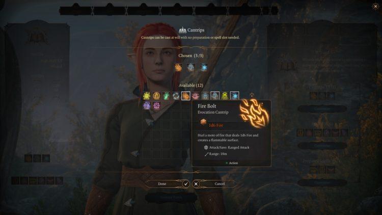 Baldur's Gate 3 Wizard Class Skills Guide 2