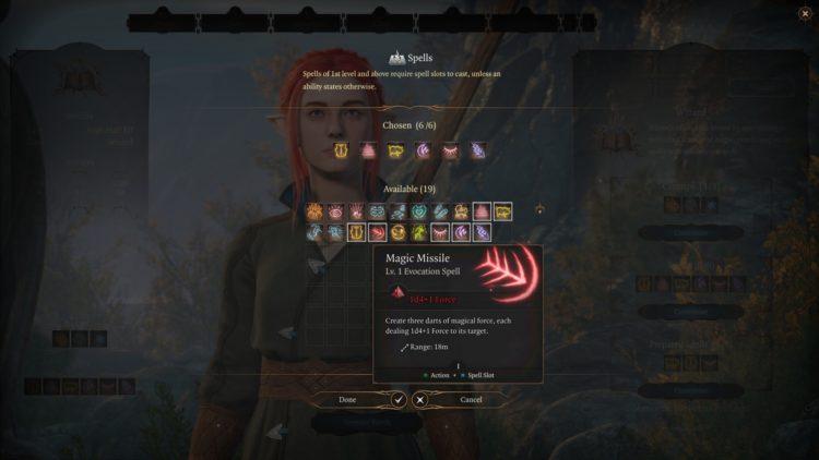 Baldur's Gate 3 Wizard Class Skills Guide 3