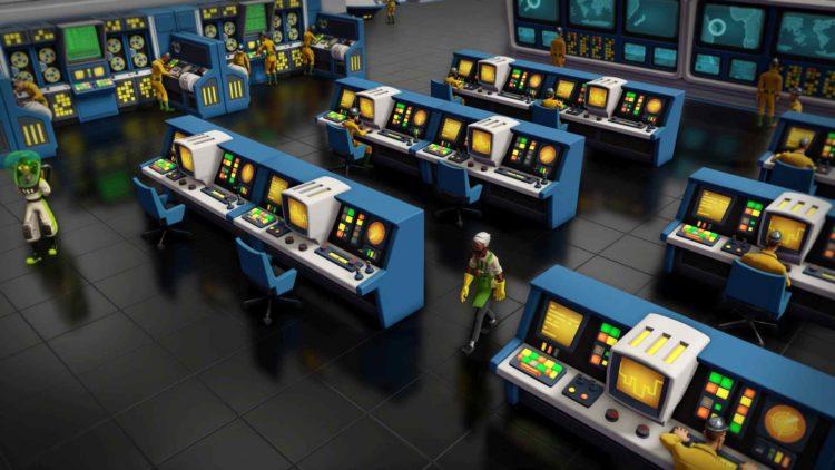 Evil Genius 2 control room