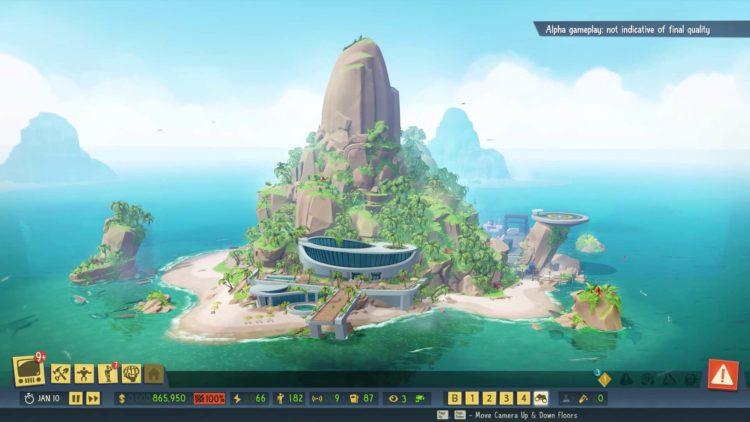 Evil Genius 2 Island