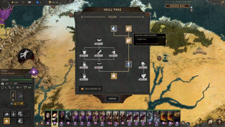Fantasy General Ii Empire Aflame Fantasy General 2 Empire Aflame Guide Character Skills Units Moira 4
