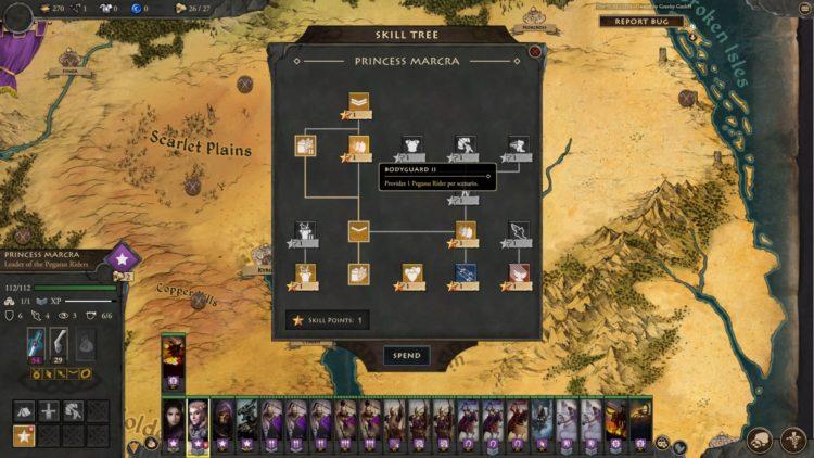 Fantasy General Ii Empire Aflame Fantasy General 2 Empire Aflame Guide Character Skills Units Moira 5