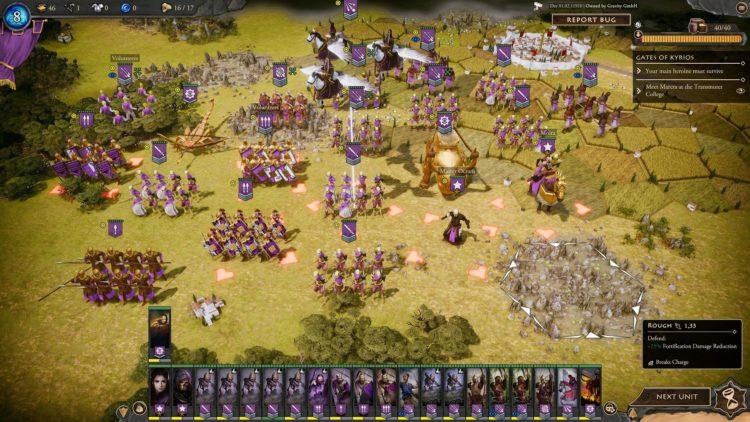 Fantasy General Ii Empire Aflame Fantasy General 2 Empire Aflame Guide Character Skills Units Moira 6