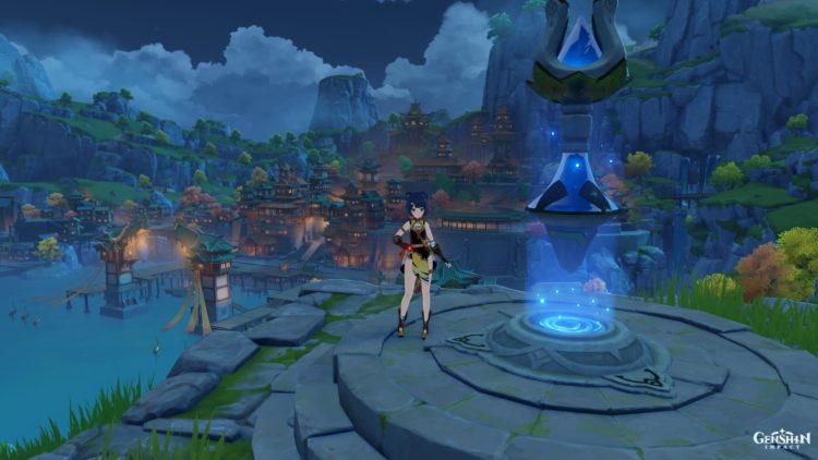Genshin Impact Rite Of Descension Quest Liyue Harbor