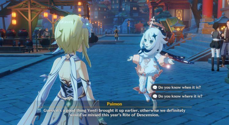 Genshin Impact Rite Of Descension Quest Liyue Harbor 1a