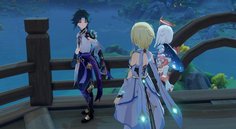 Genshin Impact Rite Of Descension Quest Liyue Harbor 5f