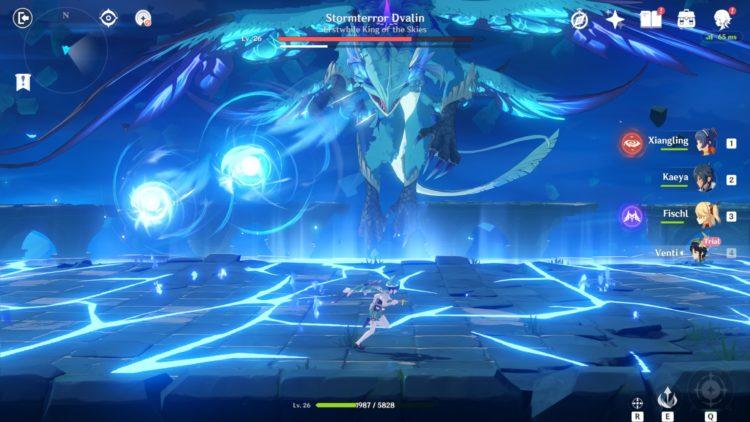 Genshin Impact Stormterror Boss Guide 2a