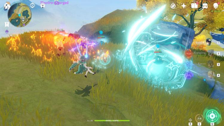 Genshin Impact Combat Guide Elements Combo 4