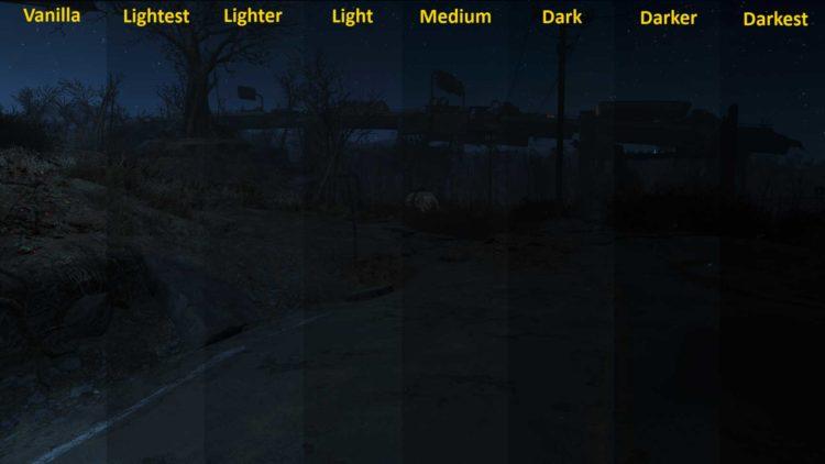 Halloween Fallout 4 Mods Darker Nights