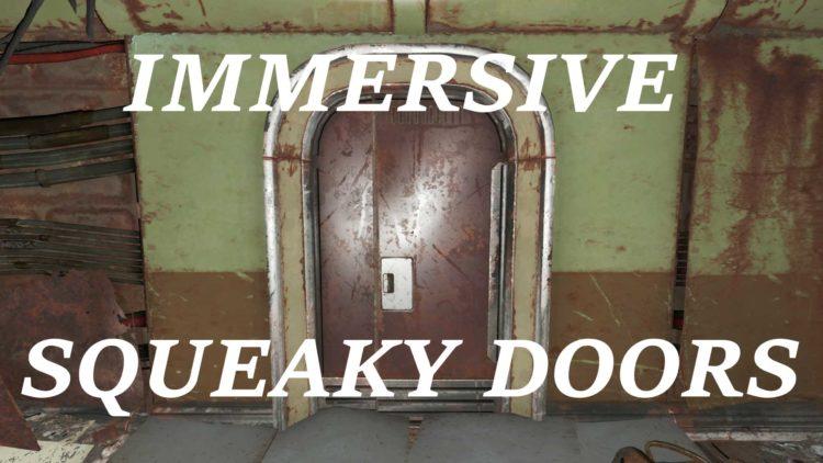 Immersive Squecky Doors Halloween Fallout 4 Mods