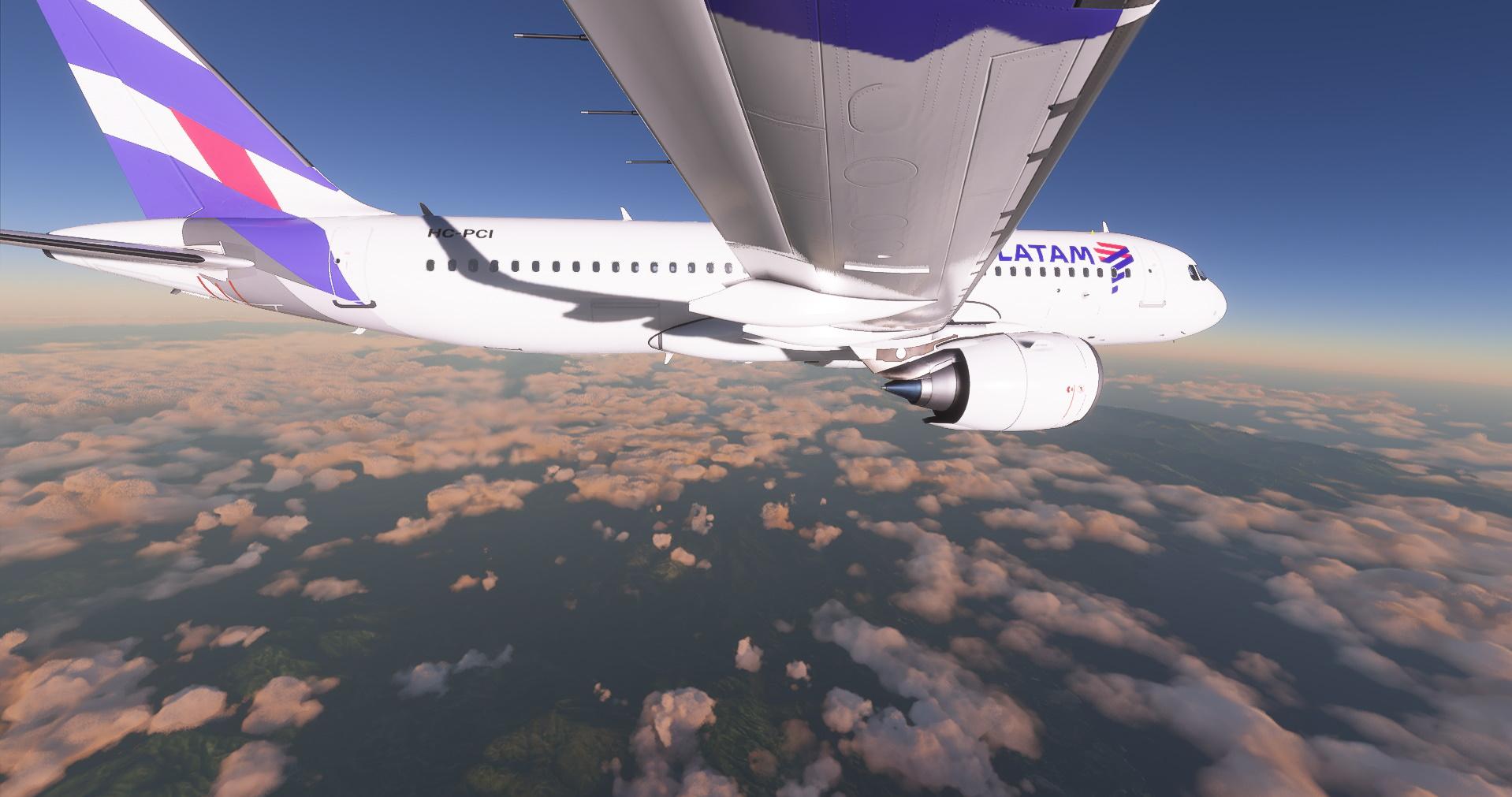 Microsoft Flight Simulator Airbus A320 Neo Latam