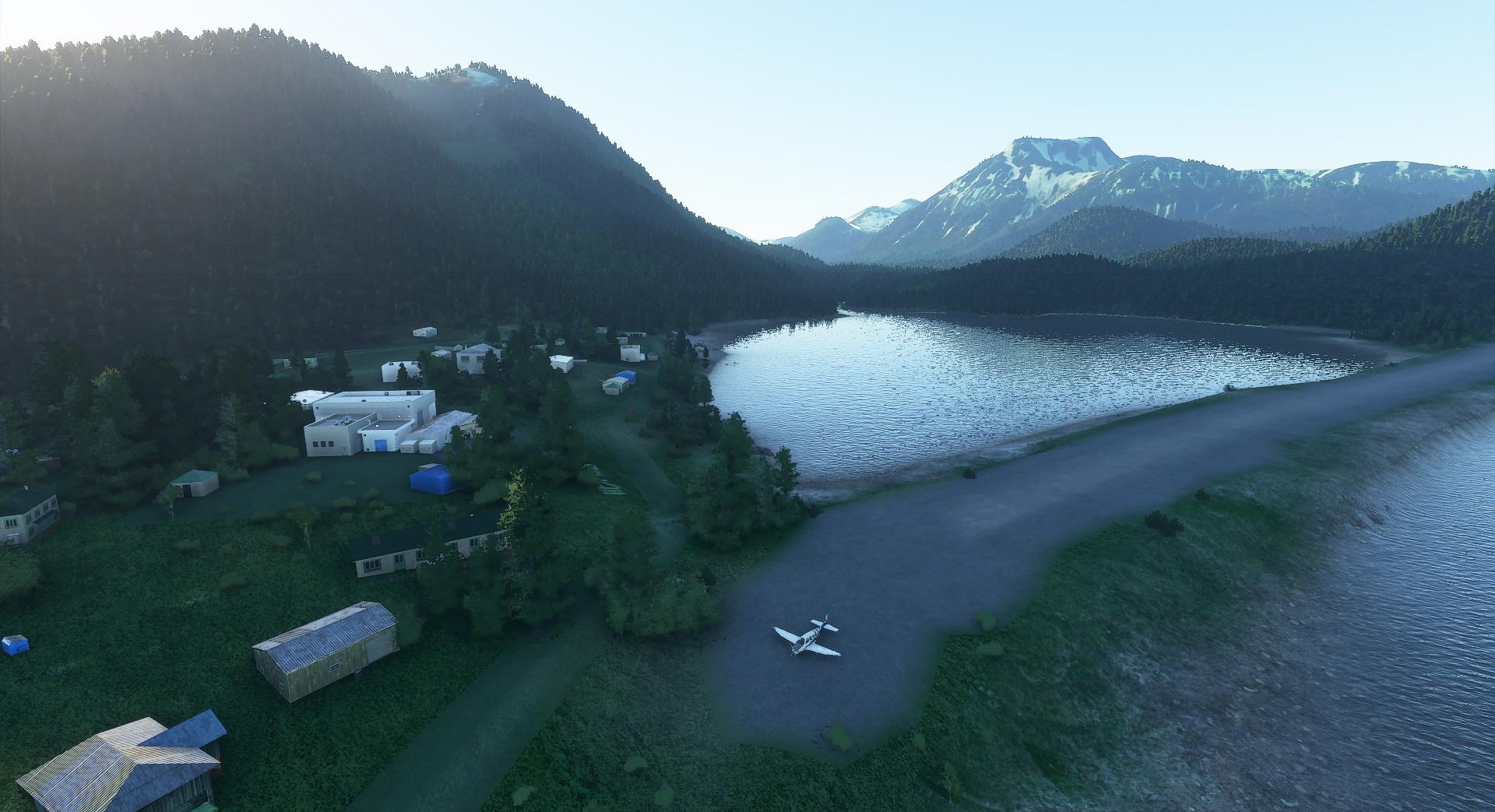 Microsoft Flight Simulator Alaskan Backwoods
