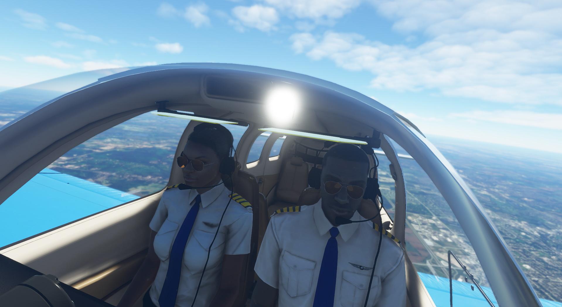 Microsoft Flight Simulator Bonanza Pilots