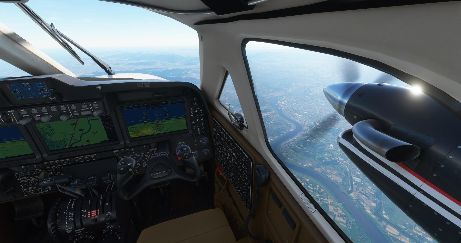 King Air Cockpit