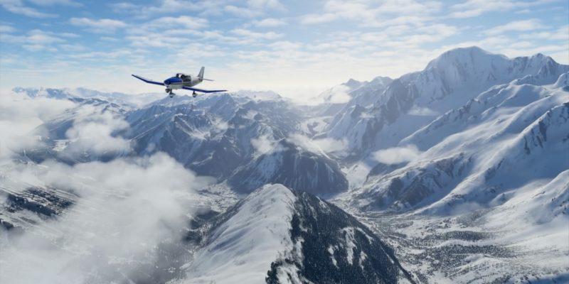Microsoft Flight Simulator Mont Blanc