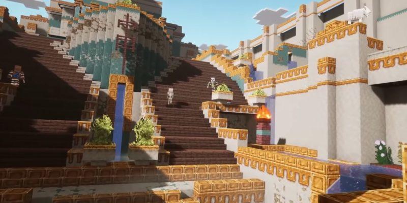 Minecraft Dungeons Howling Peaks Dlc Drops In December Alongside New Season Pass (2)