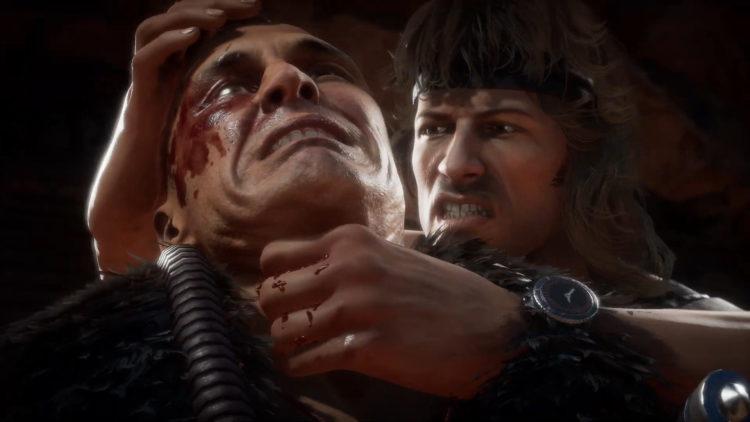 Mortal Kombat 11 Ultimate Rambo Gameplay Trailer Throat