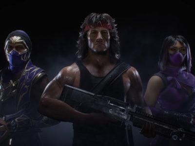 Mortal Kombat 11 Ultimate Kombat Pack 2 Mileena Rain Rambo
