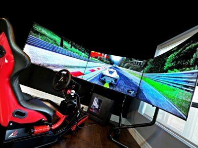 Racing Game Setup console war pc