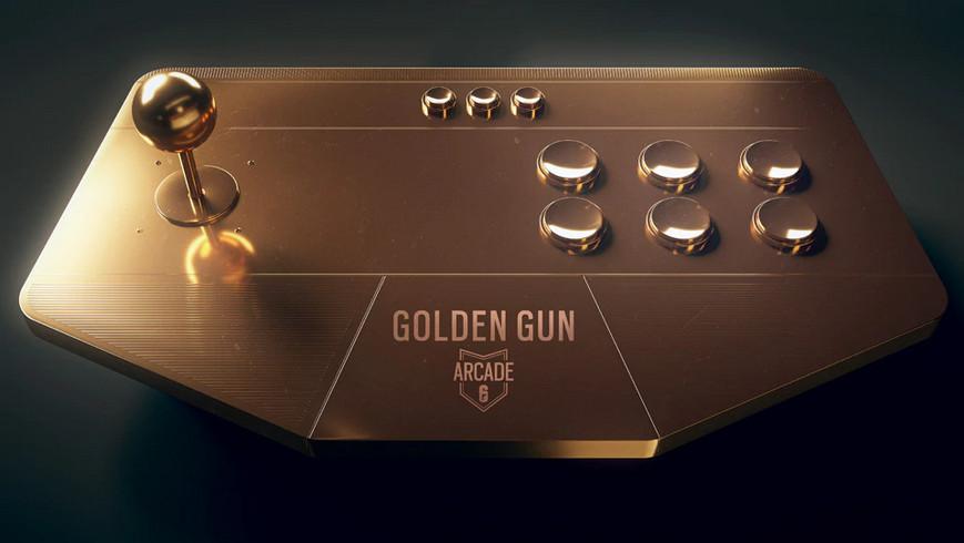 Rainbow Six Siege Golden Gun arcade