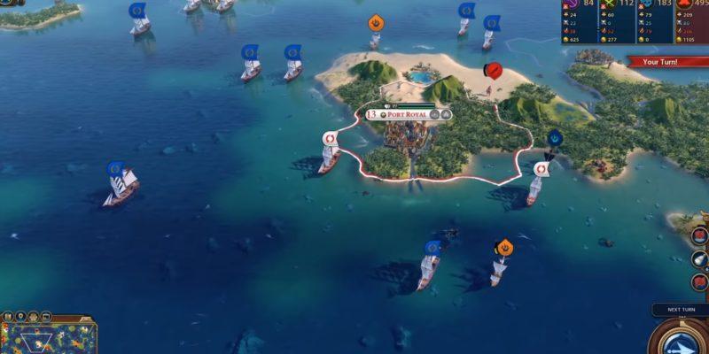 Sid Meier's Pirates Invades In New Civilization Vipirate Scenario Update (2)