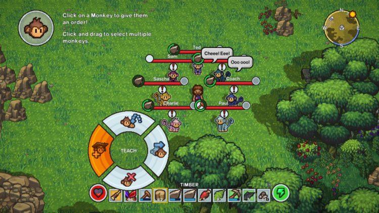 The Survivalists Monkey Companions Guide Monkey Mimic Mode 2a