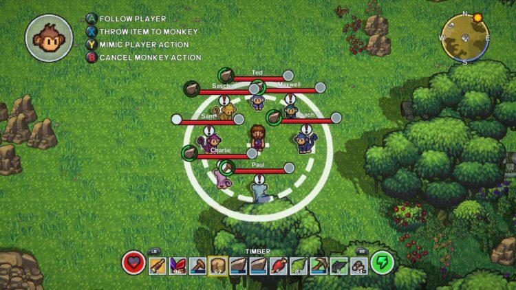 The Survivalists Monkey Companions Guide Monkey Mimic Mode 2b