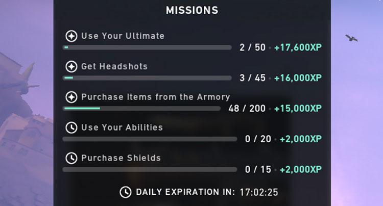 Valorant Missions Smurfs Challenges