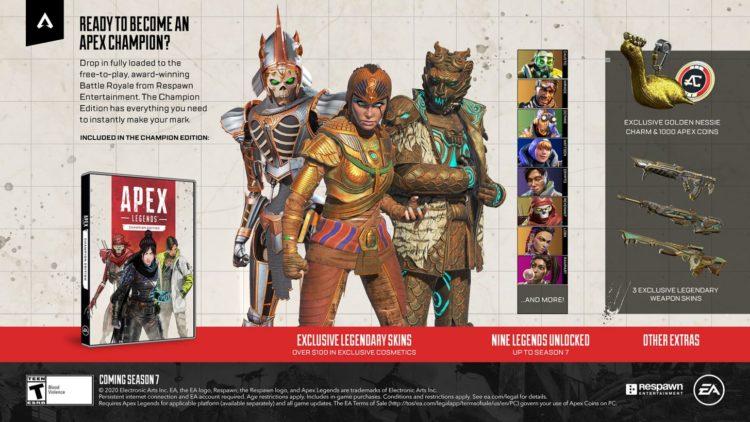 Apex Legends Champion Edition Advert