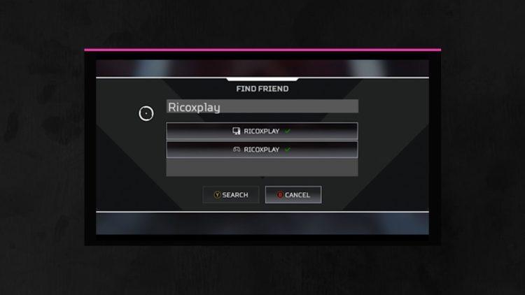 Apex Legends Crossplay Beta Ui