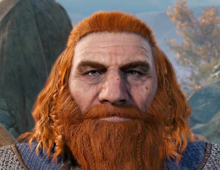 Baldur's Gate 3 Character Creation Dwarf