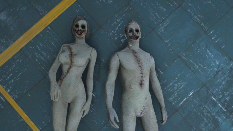 Creepy Mannequins Halloween Fallout 4 Mods